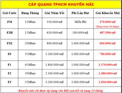 Hình ảnh củaSiêu Khuyến Mãi Cáp Quang FiberVNN Của VNPT tại TP. HCM