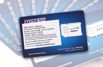 Hình ảnh củaSim 3G Ezcom VinaPhone Giá Rẻ Khuyến Mãi 1.8Gb/Tháng